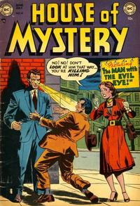 Cover Thumbnail for House of Mystery (DC, 1951 series) #4