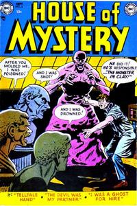 Cover Thumbnail for House of Mystery (DC, 1951 series) #6