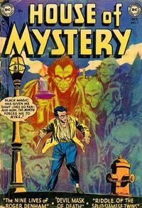 Cover Thumbnail for House of Mystery (DC, 1951 series) #7