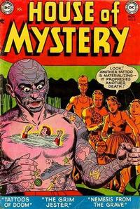 Cover Thumbnail for House of Mystery (DC, 1951 series) #8