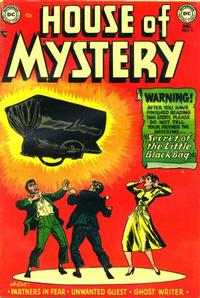 Cover Thumbnail for House of Mystery (DC, 1951 series) #9
