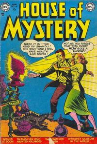 Cover Thumbnail for House of Mystery (DC, 1951 series) #10