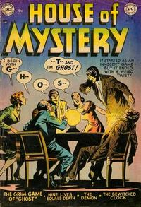 Cover Thumbnail for House of Mystery (DC, 1951 series) #11