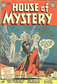 Cover Thumbnail for House of Mystery (DC, 1951 series) #12