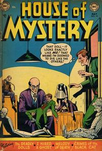 Cover Thumbnail for House of Mystery (DC, 1951 series) #14