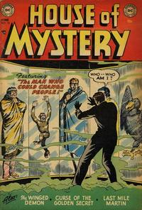 Cover Thumbnail for House of Mystery (DC, 1951 series) #15