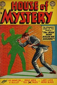 Cover Thumbnail for House of Mystery (DC, 1951 series) #16