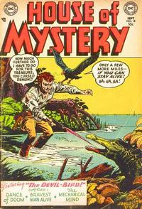 Cover Thumbnail for House of Mystery (DC, 1951 series) #18