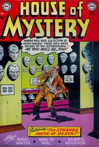 Cover Thumbnail for House of Mystery (DC, 1951 series) #19