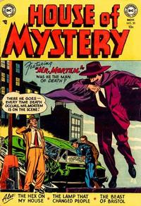 Cover Thumbnail for House of Mystery (DC, 1951 series) #20