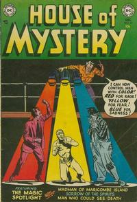 Cover Thumbnail for House of Mystery (DC, 1951 series) #21