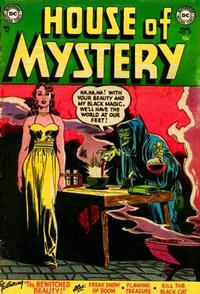 Cover Thumbnail for House of Mystery (DC, 1951 series) #24