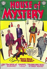 Cover Thumbnail for House of Mystery (DC, 1951 series) #27