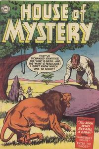 Cover Thumbnail for House of Mystery (DC, 1951 series) #29
