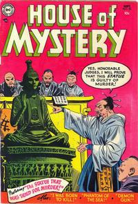 Cover Thumbnail for House of Mystery (DC, 1951 series) #30