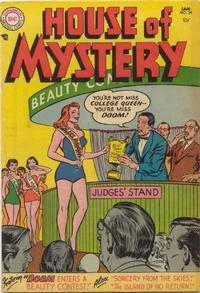 Cover Thumbnail for House of Mystery (DC, 1951 series) #34