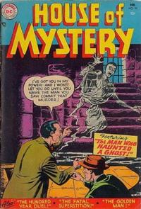 Cover Thumbnail for House of Mystery (DC, 1951 series) #35
