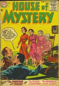 Cover Thumbnail for House of Mystery (DC, 1951 series) #36
