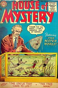 Cover Thumbnail for House of Mystery (DC, 1951 series) #37