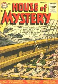 Cover Thumbnail for House of Mystery (DC, 1951 series) #39