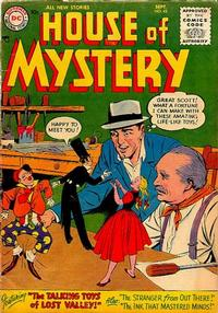 Cover Thumbnail for House of Mystery (DC, 1951 series) #42