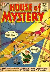 Cover Thumbnail for House of Mystery (DC, 1951 series) #43