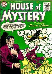 Cover Thumbnail for House of Mystery (DC, 1951 series) #44