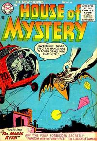 Cover Thumbnail for House of Mystery (DC, 1951 series) #45