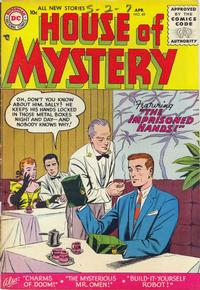 Cover Thumbnail for House of Mystery (DC, 1951 series) #49