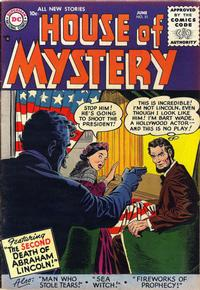 Cover for House of Mystery (DC, 1951 series) #51