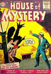 Cover Thumbnail for House of Mystery (DC, 1951 series) #52