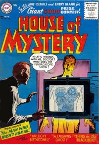 Cover Thumbnail for House of Mystery (DC, 1951 series) #56