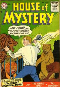Cover Thumbnail for House of Mystery (DC, 1951 series) #57