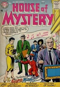 Cover Thumbnail for House of Mystery (DC, 1951 series) #58