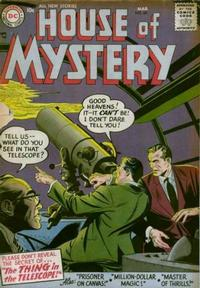 Cover Thumbnail for House of Mystery (DC, 1951 series) #60