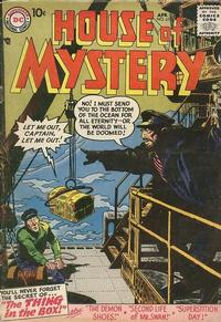 Cover Thumbnail for House of Mystery (DC, 1951 series) #61