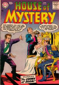 Cover Thumbnail for House of Mystery (DC, 1951 series) #63