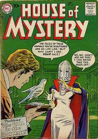 Cover Thumbnail for House of Mystery (DC, 1951 series) #66