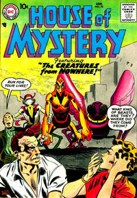 Cover Thumbnail for House of Mystery (DC, 1951 series) #70