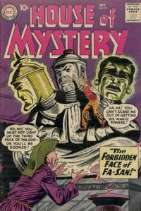 Cover Thumbnail for House of Mystery (DC, 1951 series) #91