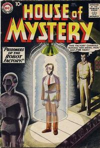 Cover Thumbnail for House of Mystery (DC, 1951 series) #93
