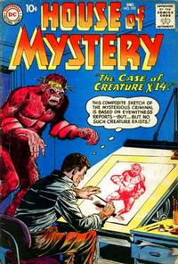Cover Thumbnail for House of Mystery (DC, 1951 series) #105