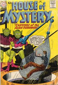 Cover Thumbnail for House of Mystery (DC, 1951 series) #107