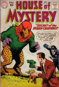 Cover for House of Mystery (DC, 1951 series) #109