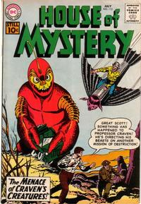 Cover Thumbnail for House of Mystery (DC, 1951 series) #112