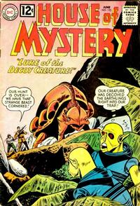 Cover Thumbnail for House of Mystery (DC, 1951 series) #123