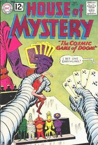 Cover Thumbnail for House of Mystery (DC, 1951 series) #127