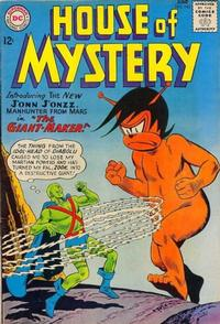 Cover Thumbnail for House of Mystery (DC, 1951 series) #143