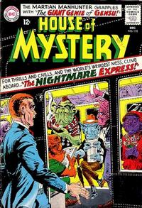Cover Thumbnail for House of Mystery (DC, 1951 series) #155