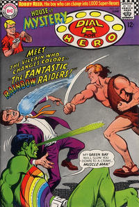 Cover Thumbnail for House of Mystery (DC, 1951 series) #167